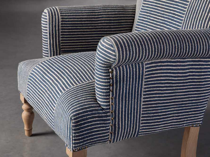 "Eliza Upholstered 28"" Chair in Eliza Coastal, slide 6 of 8"
