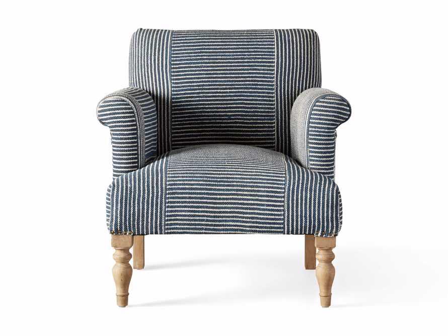 "Eliza Upholstered 28"" Chair in Eliza Coastal, slide 7 of 8"