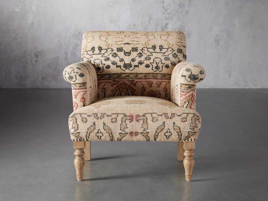 """Eliza Upholstered 28"""" Chair in Eliza Rose, slide 2 of 9"""