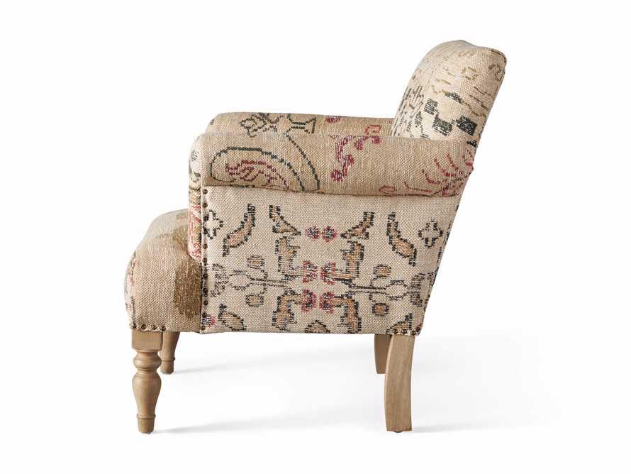 """Eliza Upholstered 28"""" Chair in Eliza Rose, slide 9 of 9"""
