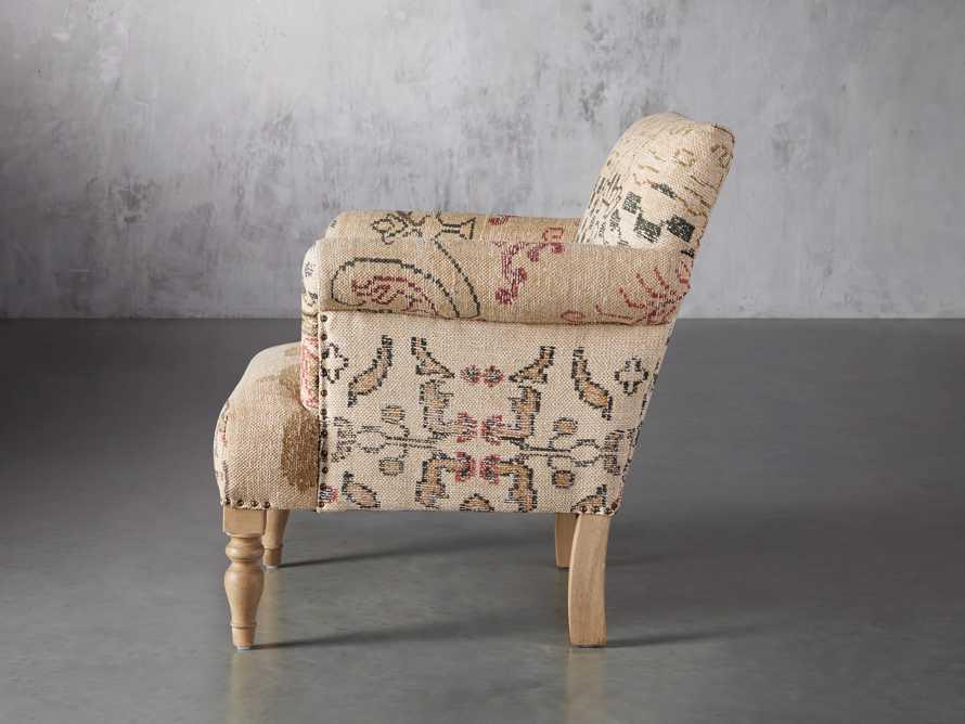 """Eliza Upholstered 28"""" Chair in Eliza Rose, slide 4 of 9"""
