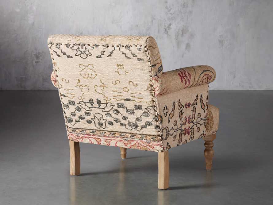 """Eliza Upholstered 28"""" Chair in Eliza Rose, slide 5 of 9"""