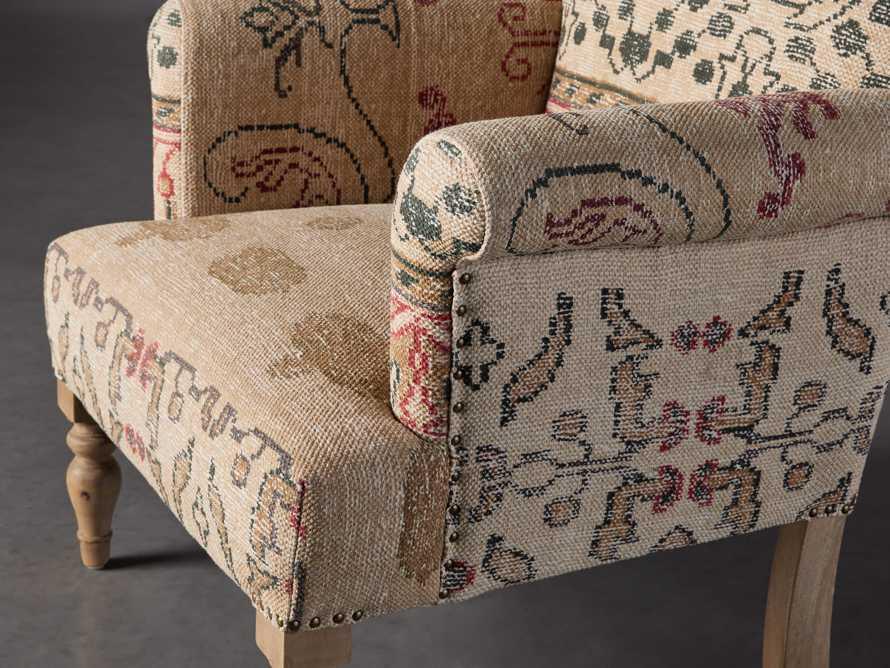 """Eliza Upholstered 28"""" Chair in Eliza Rose, slide 6 of 9"""
