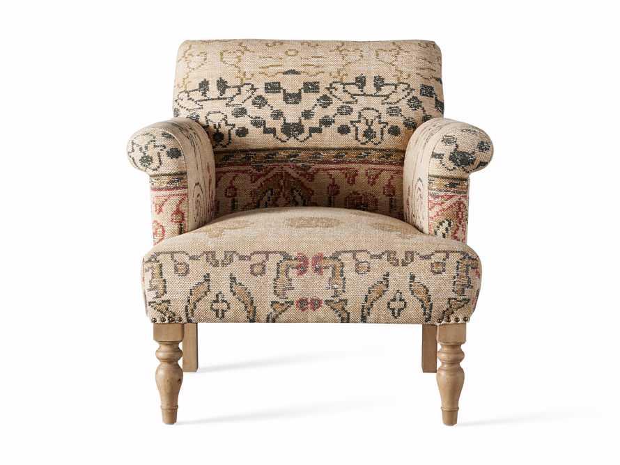 """Eliza Upholstered 28"""" Chair in Eliza Rose, slide 8 of 9"""