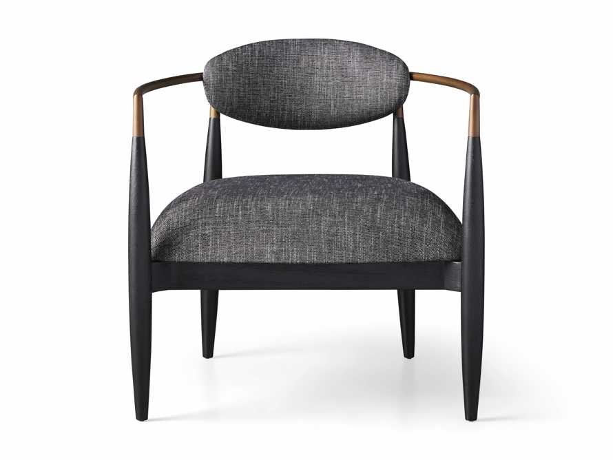 """Jagger Upholstered 28"""" Chair in Cary Black, slide 8 of 9"""