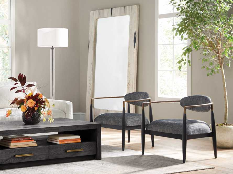 """Jagger Upholstered 28"""" Chair in Cary Black, slide 7 of 9"""