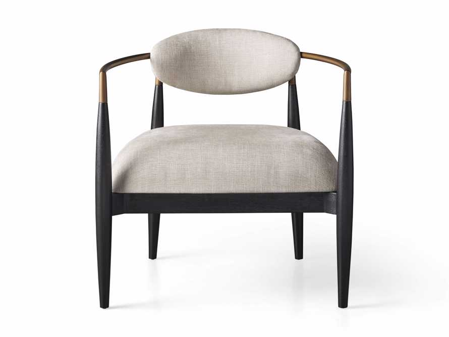 "Jagger Upholstered 28"" Chair in Cary Linen, slide 7 of 8"