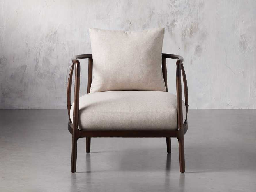 "Griggs 28"" Chair in Oatmeal, slide 2 of 14"