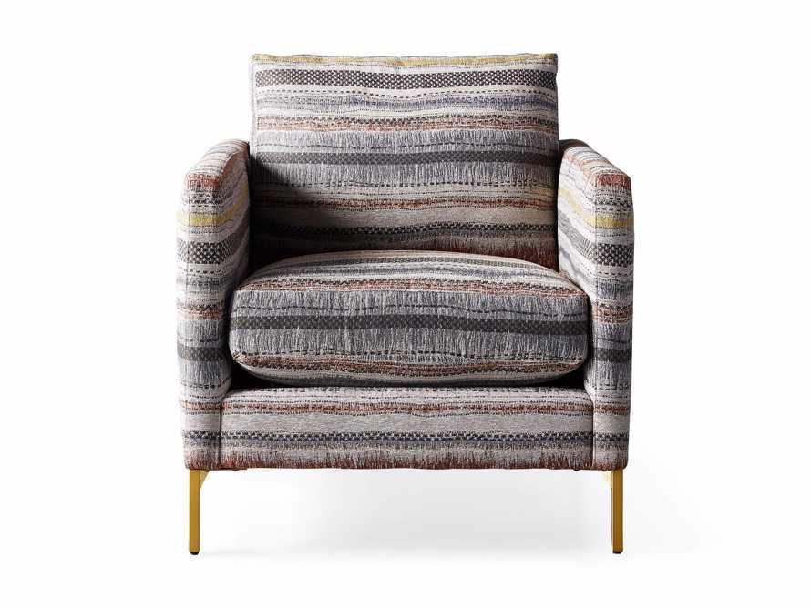 "Clarkson Upholstered 32"" Chair in Stirrup Multi, slide 9 of 10"