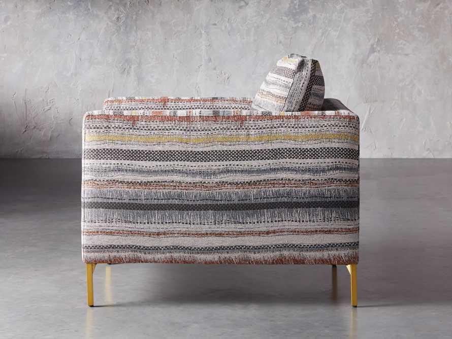 "Clarkson Upholstered 32"" Chair in Stirrup Multi, slide 4 of 10"