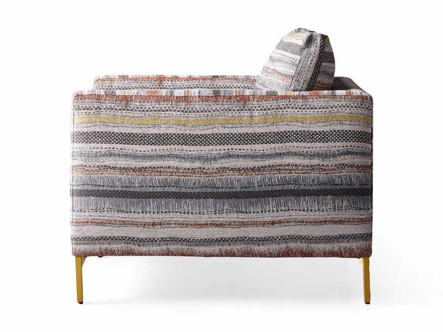 "Clarkson Upholstered 32"" Chair in Stirrup Multi, slide 10 of 10"