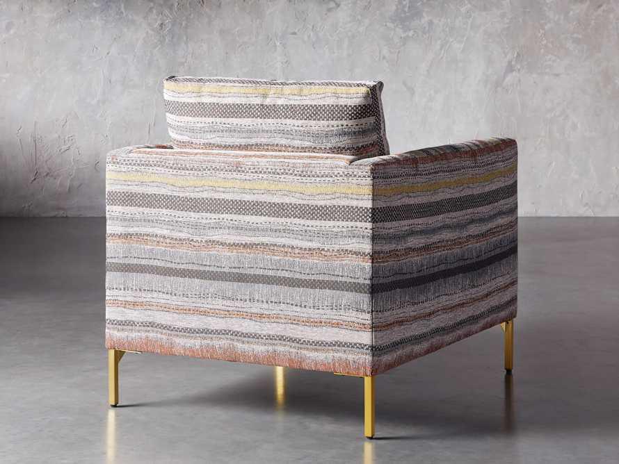 "Clarkson Upholstered 32"" Chair in Stirrup Multi, slide 5 of 10"
