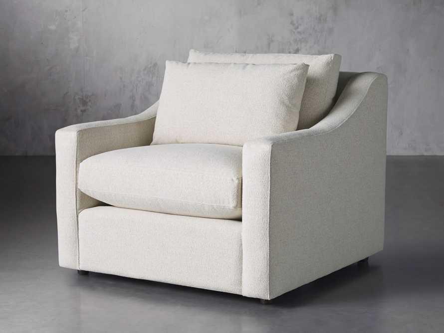 "Ashby Petite Upholstered 36"" Chair, slide 2 of 7"