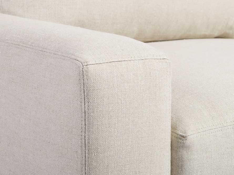 """Remington Upholstered 43"""" Petite Swivel Chair, slide 5 of 5"""