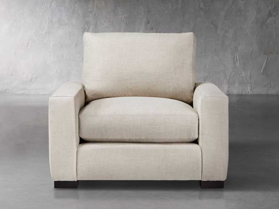 "Remington Upholstered 43"" Petite Chair, slide 1 of 5"