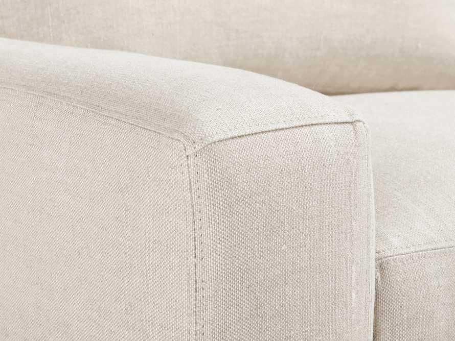 "Remington Upholstered 43"" Petite Chair, slide 5 of 5"