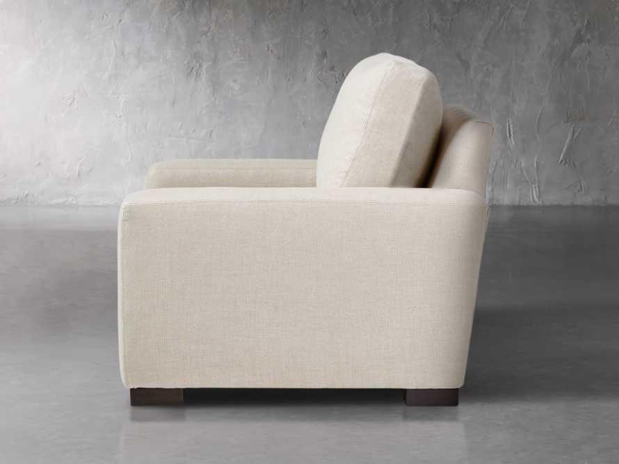 "Remington Upholstered 43"" Petite Chair, slide 3 of 5"
