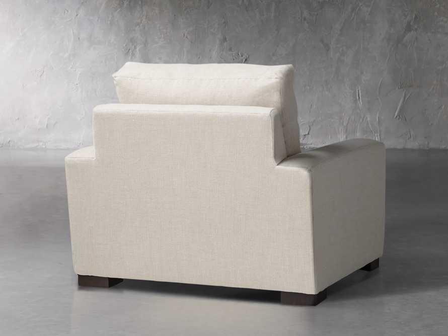"Remington Upholstered 43"" Petite Chair, slide 4 of 5"