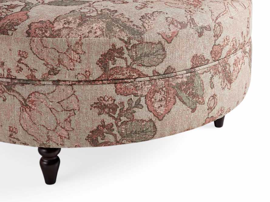 "Adria Upholstered 38"" Round Ottoman, slide 2 of 4"