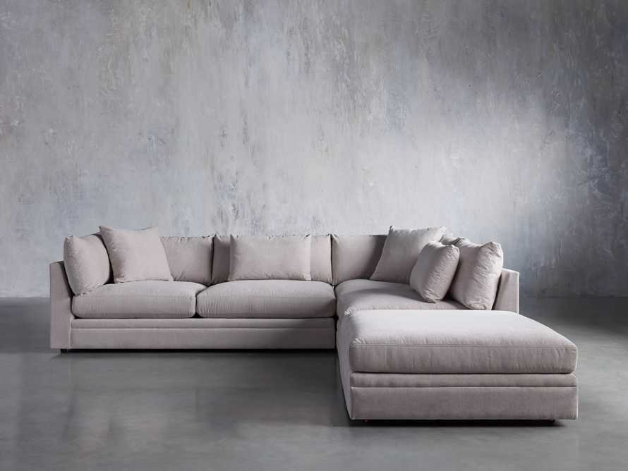 Pavo Upholstered 3-PC Left Arm Sectional, slide 1 of 7