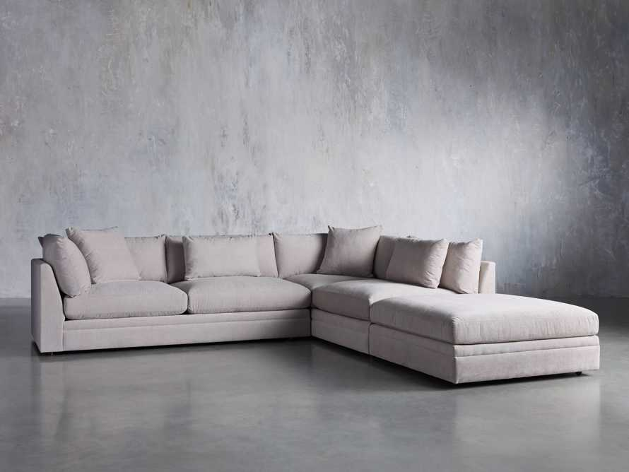 Pavo Upholstered 3-PC Left Arm Sectional, slide 2 of 7