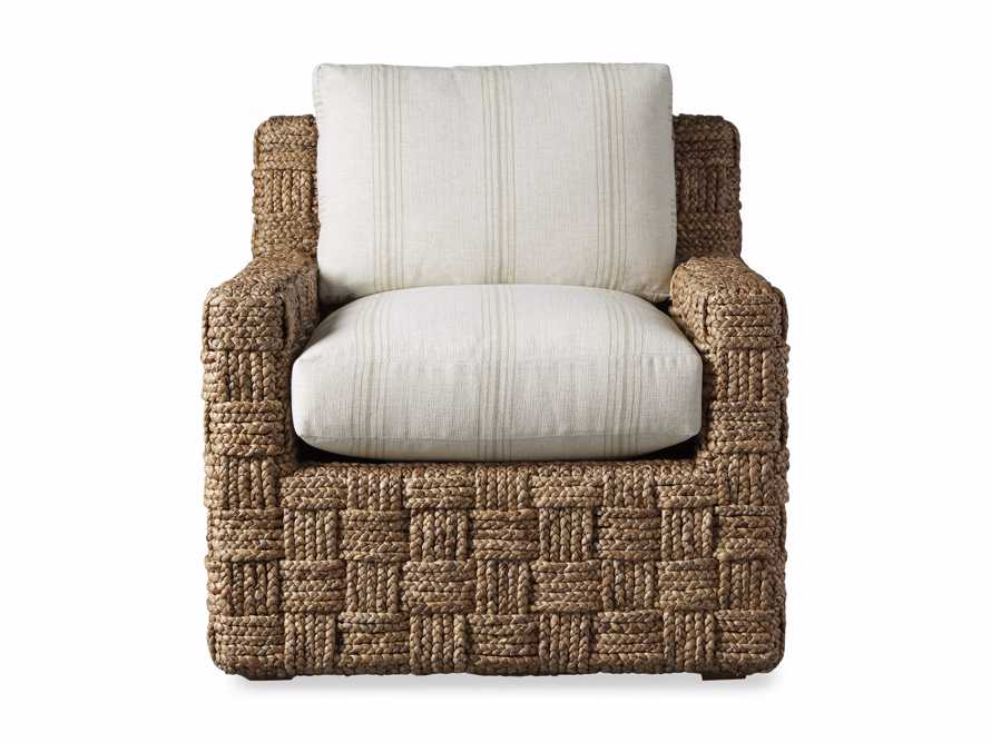 "Riley Upholstered 33"" Chair in Suntory Sand and Natural, slide 9 of 10"
