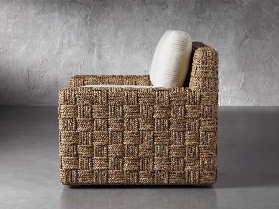 """Riley Upholstered 33"""" Chair in Suntory Sand and Natural, slide 3 of 10"""