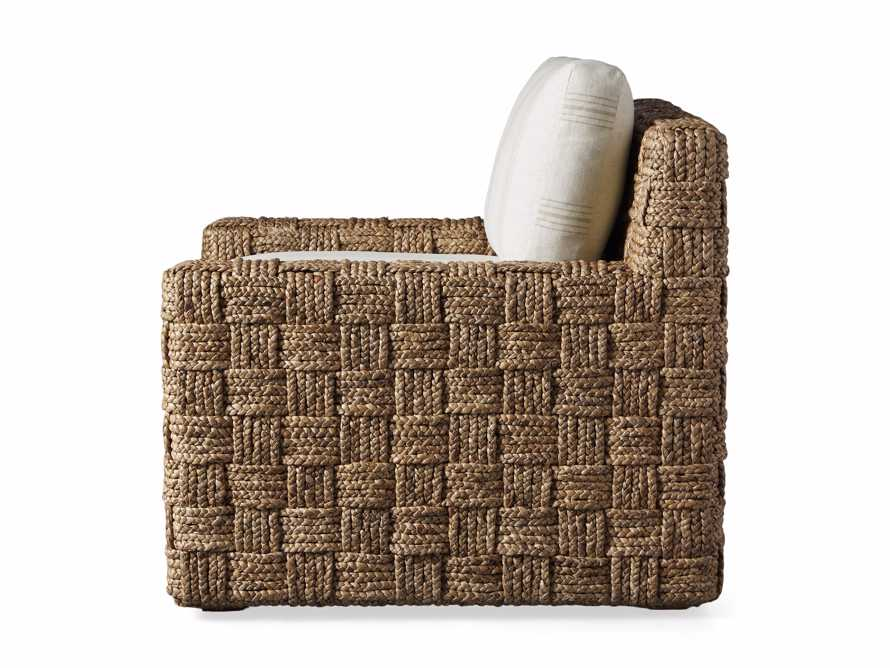 """Riley Upholstered 33"""" Chair in Suntory Sand and Natural, slide 10 of 10"""