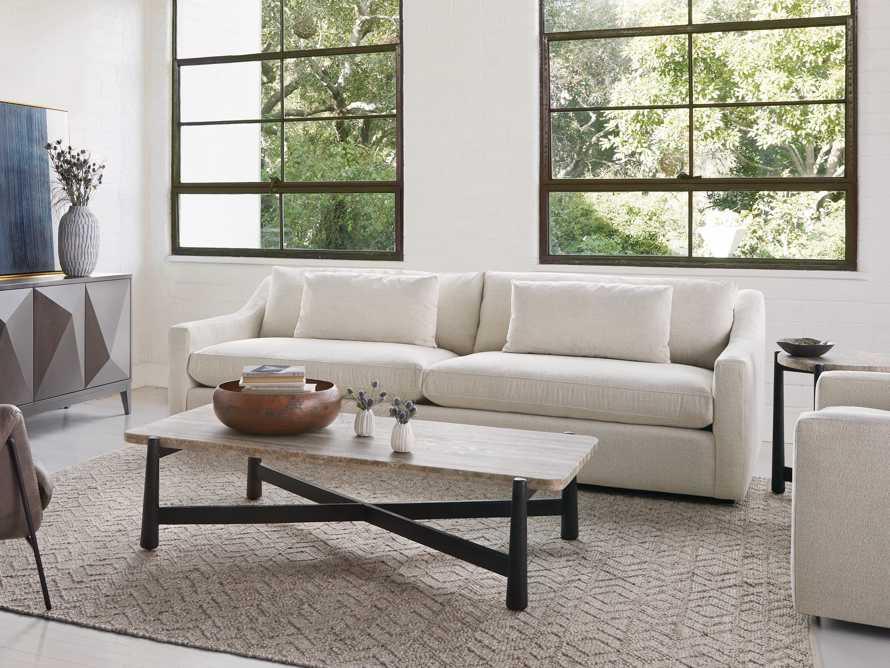 """Ashby Deep Upholstered 106"""" 2/2 Sofa, slide 9 of 11"""