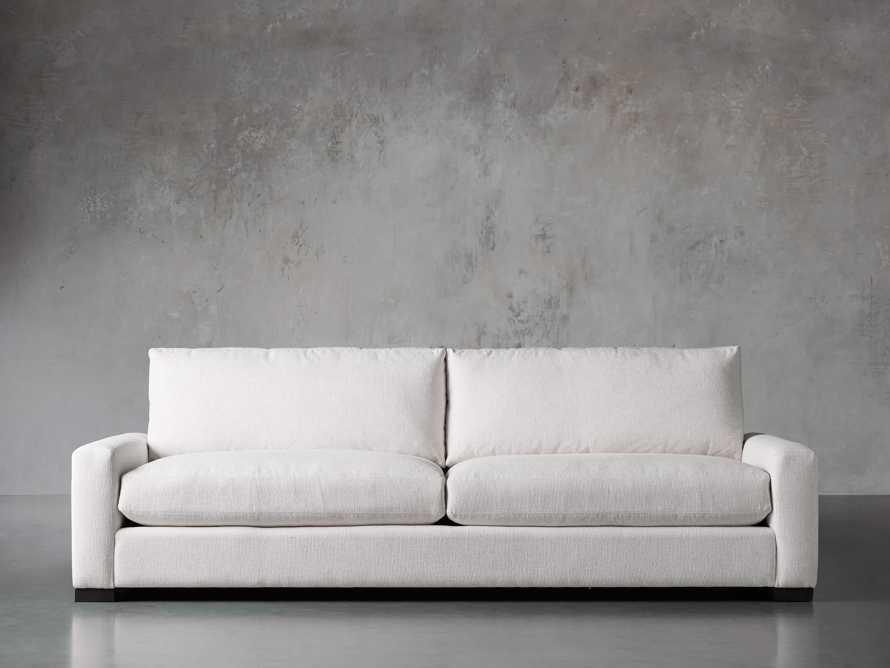 "Remington Upholstered 108"" Deep 2/2 Sofa, slide 1 of 7"