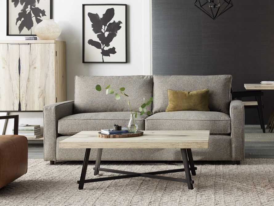 "Filmore 86"" Upholstered Queen Air Sleeper Sofa, slide 1 of 9"