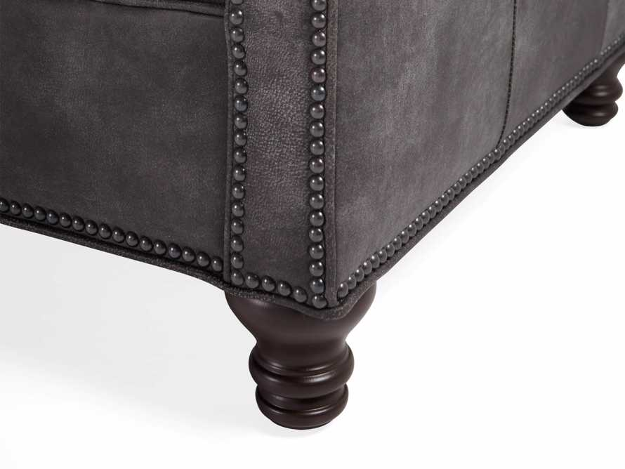 "Berwick 88"" Leather Tufted Sofa, slide 7 of 8"