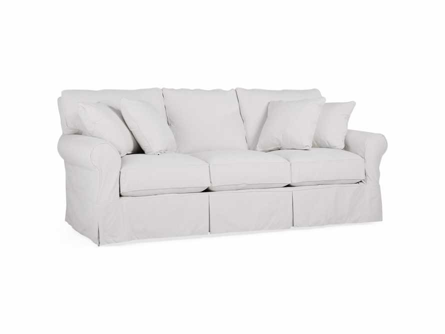 "Baldwin Slipcovered 89"" Queen Air Sleeper Sofa (3/3)"