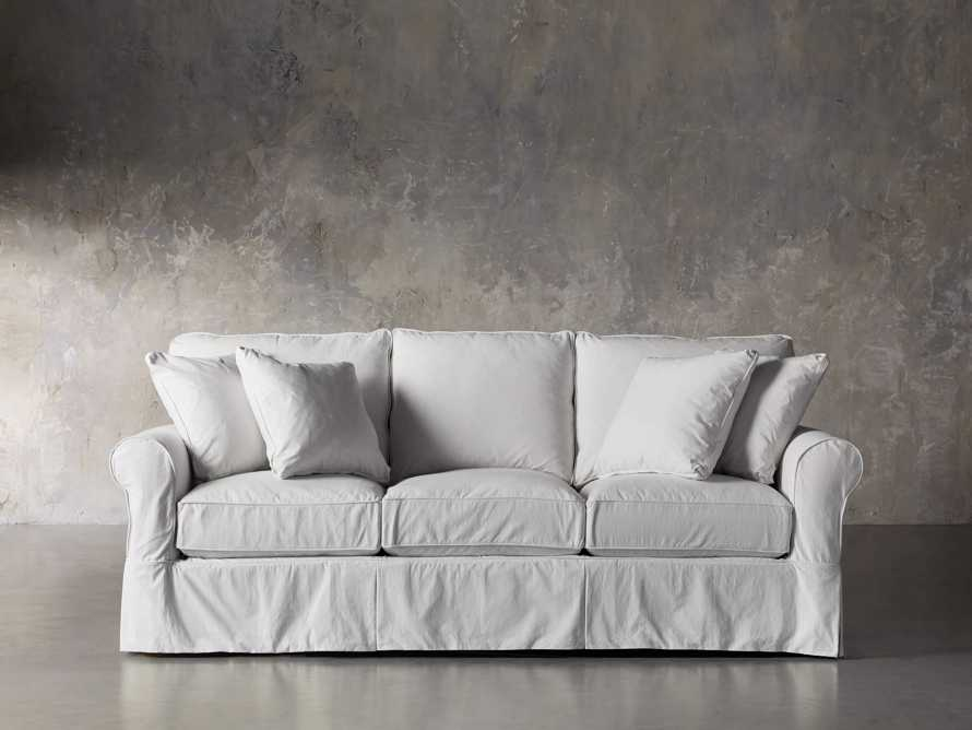 "Baldwin Slipcovered 89"" Sofa"