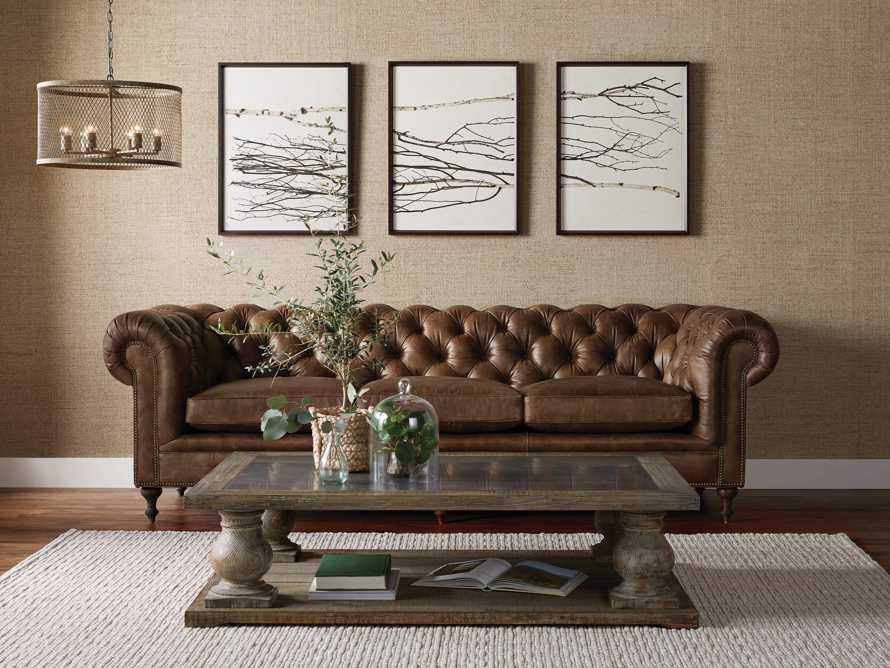 "Wessex 109"" Leather Tufted Sofa, slide 8 of 10"