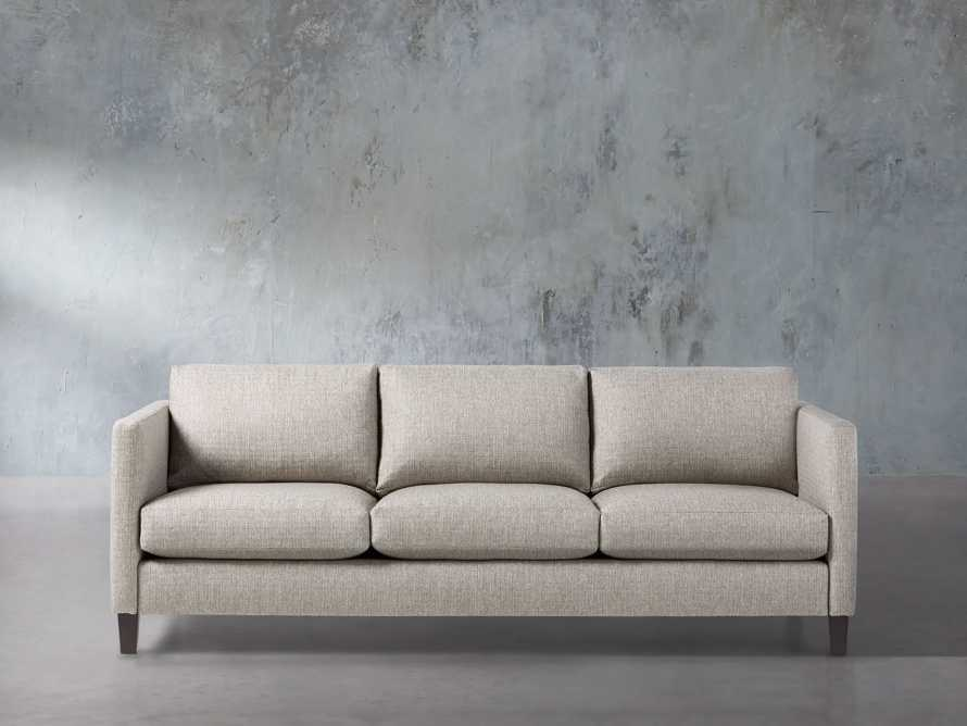 "Taylor Easy Connect Upholstered 90"" Sofa, slide 1 of 9"