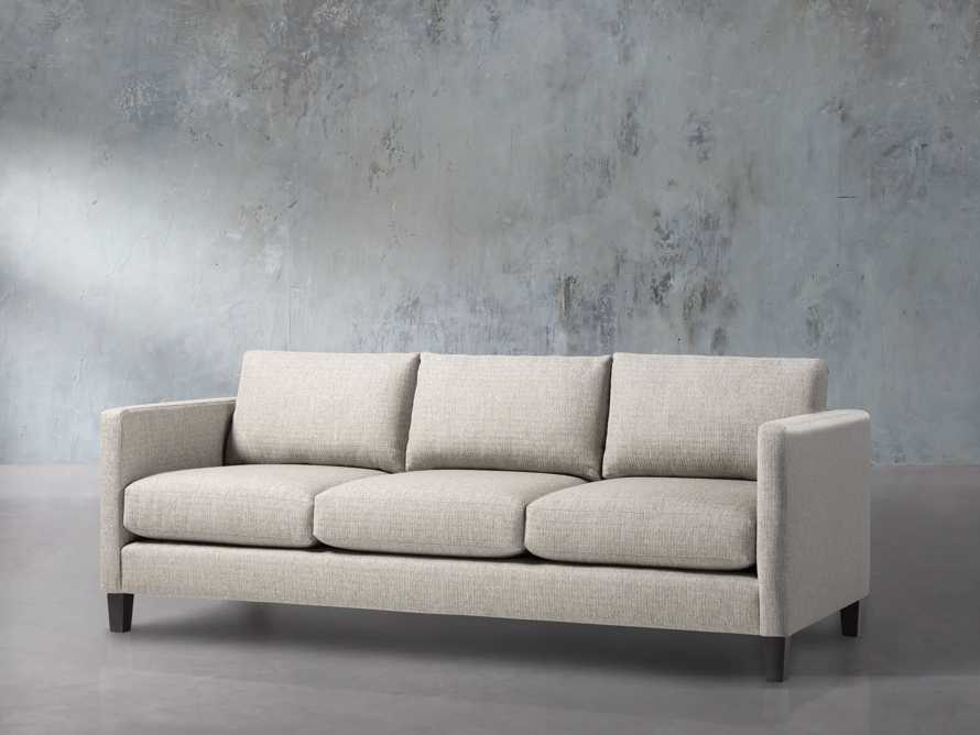 "Taylor Easy Connect Upholstered 90"" Sofa, slide 2 of 9"