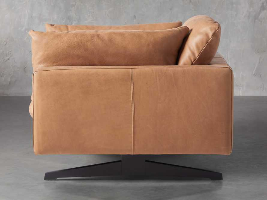 "Jarvis Leather 43"" Chair in Burnham Camel, slide 3 of 5"