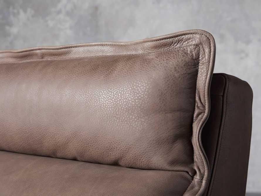 """Rowland Leather 34"""" Armless Motion Chair in Burnham Chocolate, slide 6 of 8"""