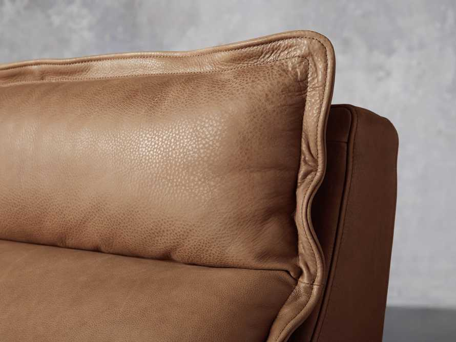 """Rowland Leather 34"""" Armless Motion Chair in Burnham Camel, slide 6 of 8"""