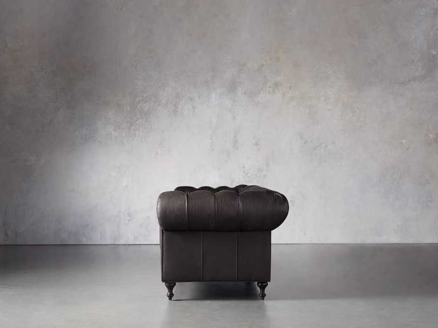 """Wessex Leather 109"""" Sofa, slide 3 of 10"""