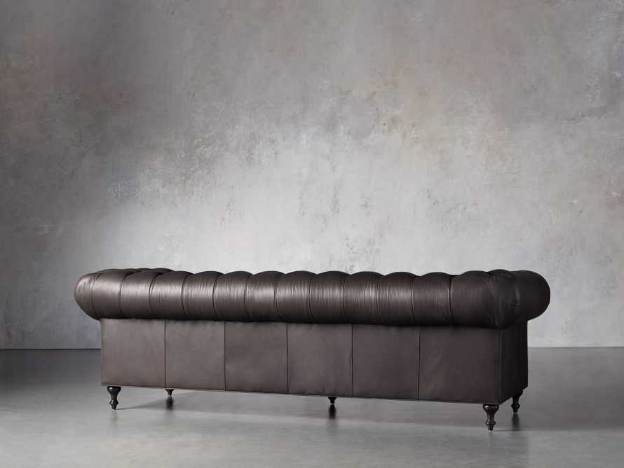 """Wessex Leather 109"""" Sofa, slide 4 of 10"""