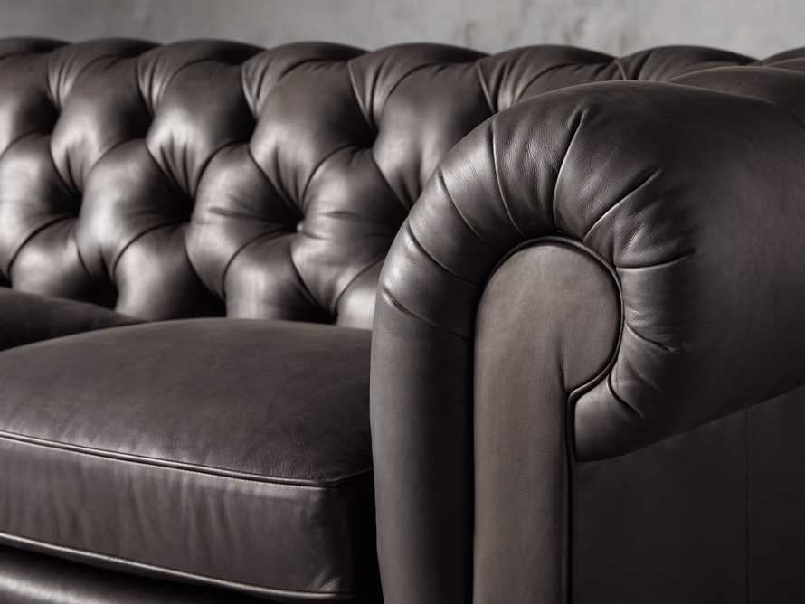 """Wessex Leather 109"""" Sofa, slide 5 of 10"""