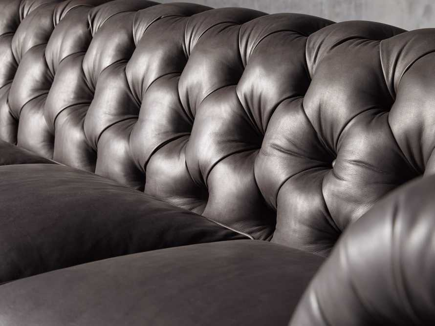 """Wessex Leather 109"""" Sofa, slide 6 of 10"""
