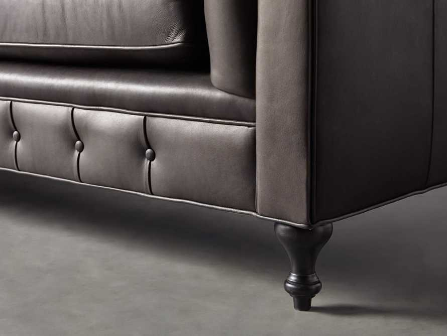 """Wessex Leather 109"""" Sofa, slide 7 of 10"""