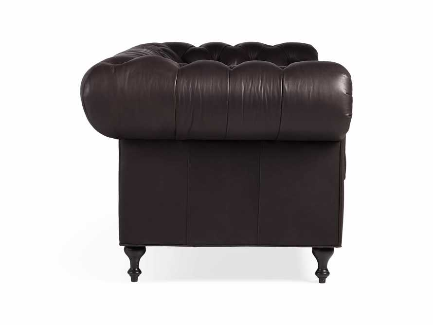 """Wessex Leather 109"""" Sofa, slide 9 of 10"""