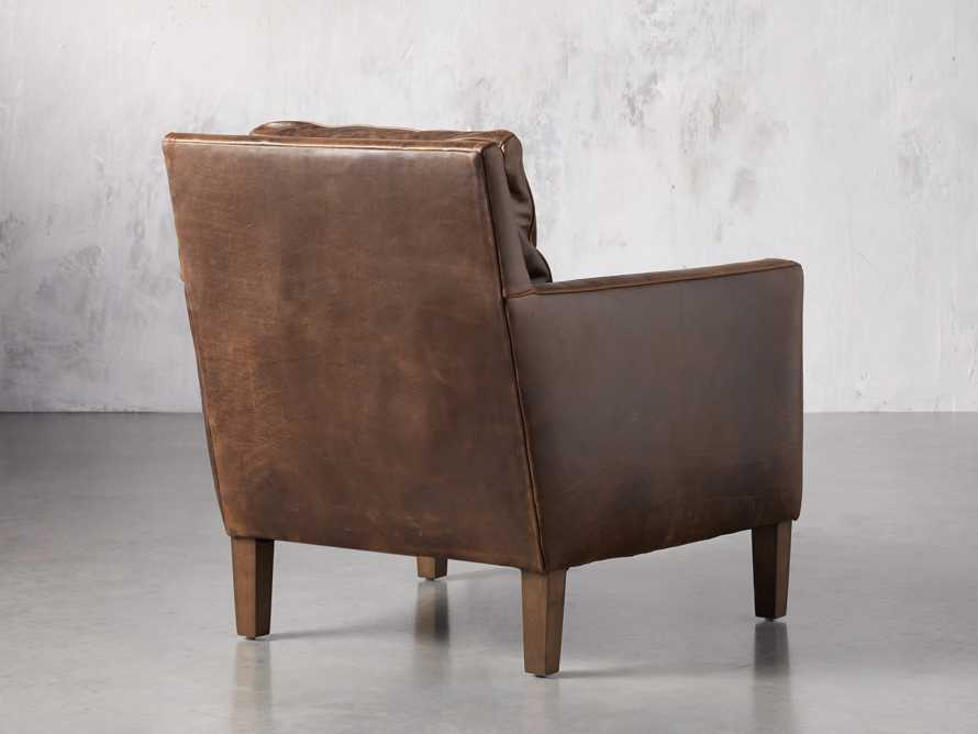 "Kenley Leather 33"" Chair, slide 5 of 8"