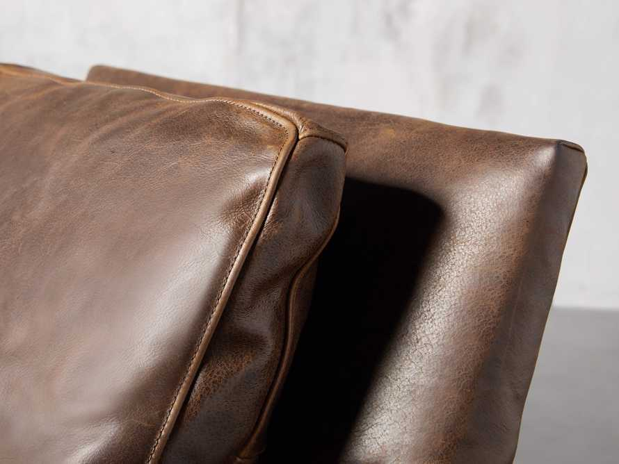"Kenley Leather 33"" Chair, slide 7 of 8"