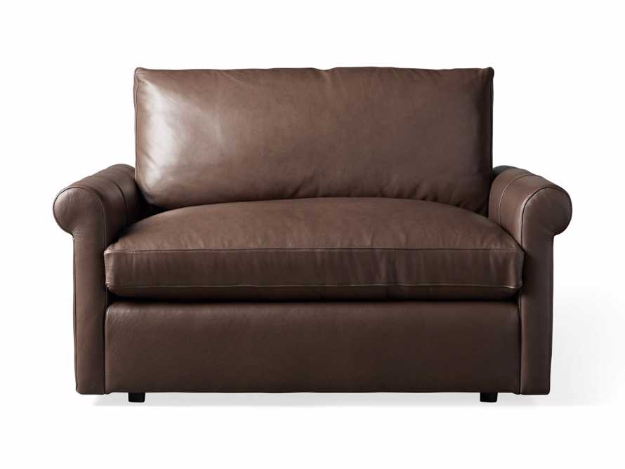Kipton Leather Rolled Arm Chair, slide 6 of 7