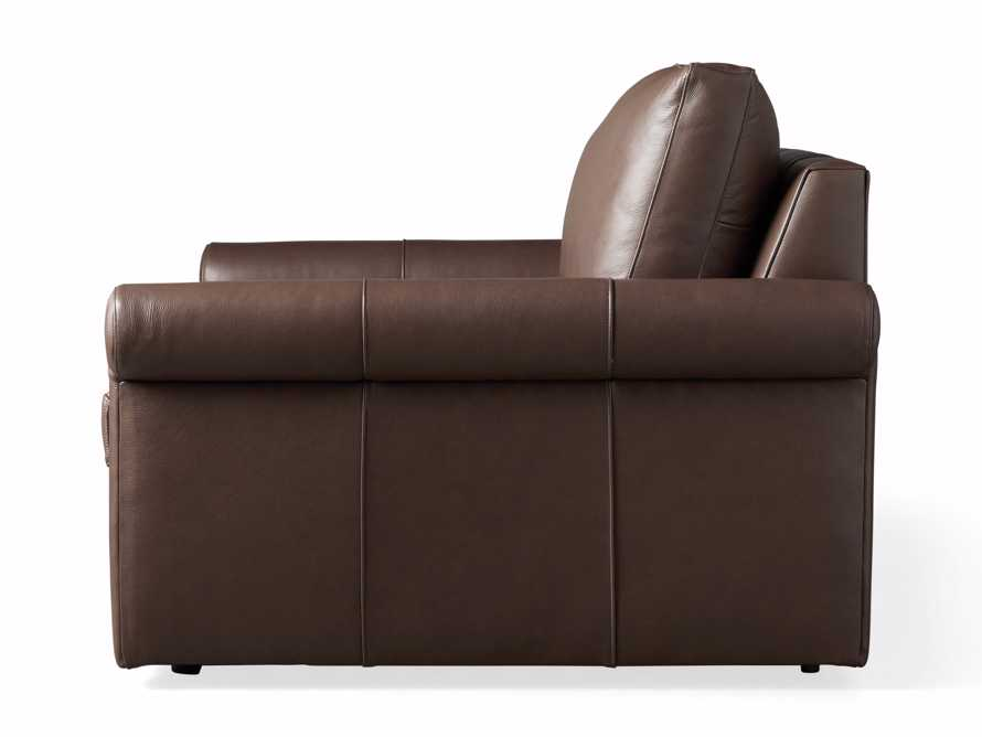 Kipton Leather Rolled Arm Chair, slide 7 of 7